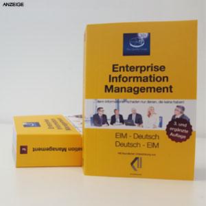 EIM-Wörterbuch – Akronyme rund um Vertragsmanagement, Akten/Dokumente, Prozesse, Risiko-und Compliance uvm.